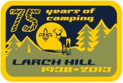 larchhill badge